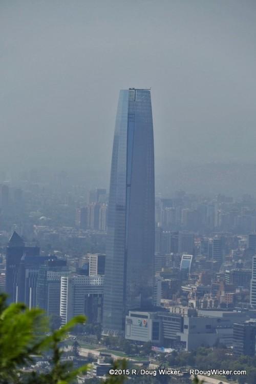 64-story Gran Torre Santiago — Tallest Building in Santiago