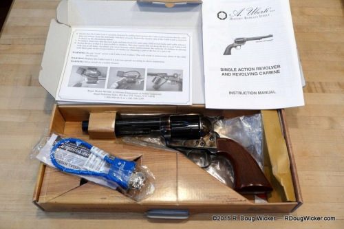 Uberti Single Action Army — What's inside the box
