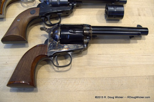 Uberti Single Action Army and a Ruger Single-Six