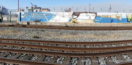 Tracks with an artistic view