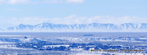 View of New Mexico Mountains