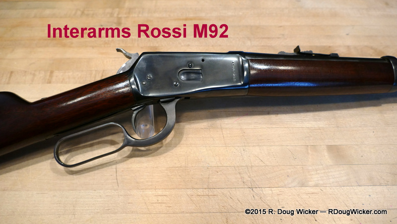A Tribute to Mike DiMuzio and a Look at the Interarms Rossi M92 in ...