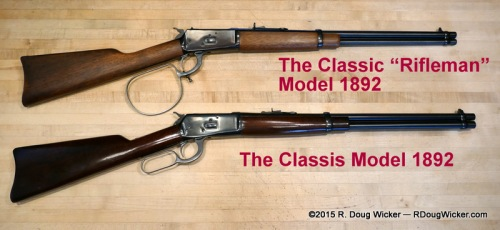 """Classic """"Rifleman"""" vs. Classic Model 1892"""