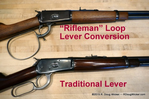Loop Lever Conversion vs. Standard Lever