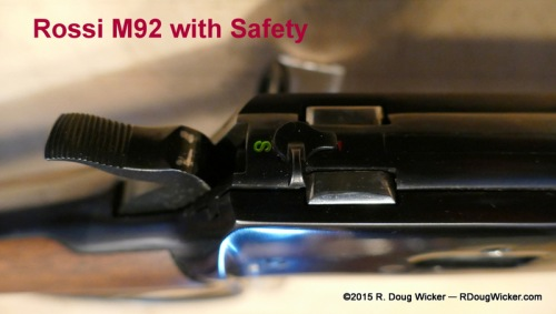 New Rossi M92 with Safety