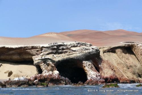 North Face of Paracas Peninsula