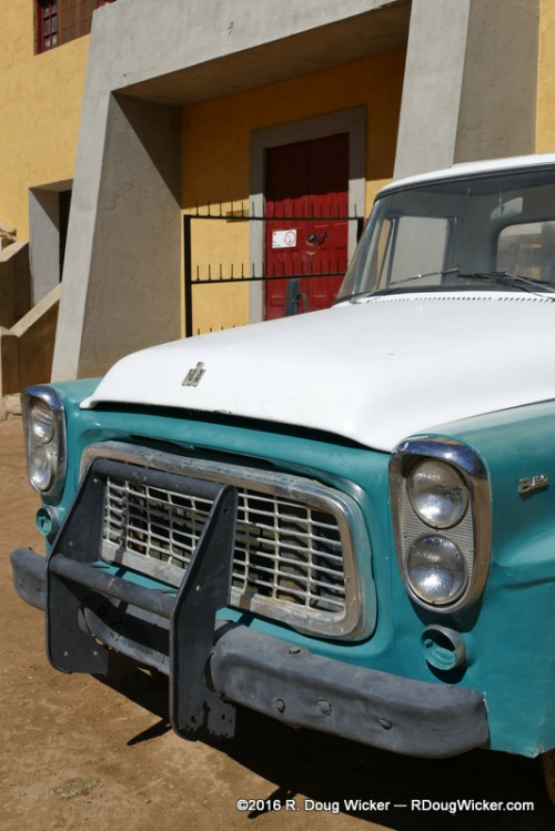 Old International Harvester truck