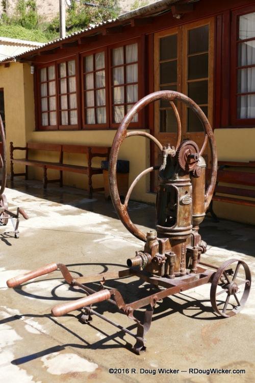 Fundo Los Nichos distillery