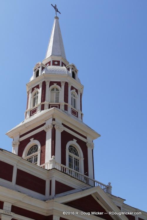 Vicuna Plaza Church Steeple