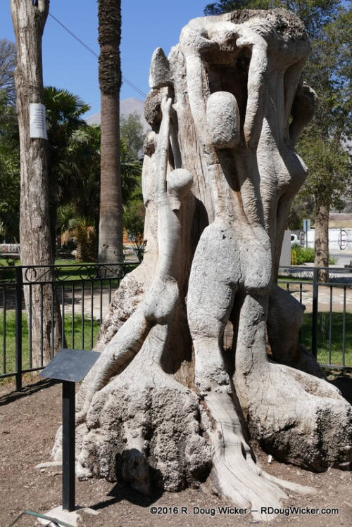 Vicuña statuary