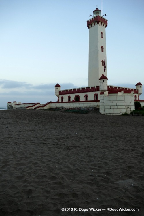 La Serena Lighthouse at Dawn