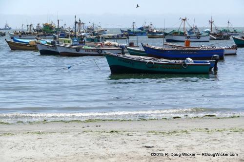 Paracas Fishing Fleet