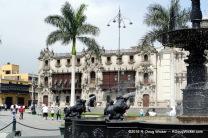 Plaza Mayor fountain