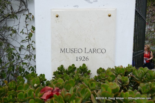 Museo Larco founded in 1926