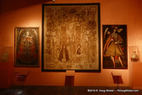 Not everything here is pre-Columbian