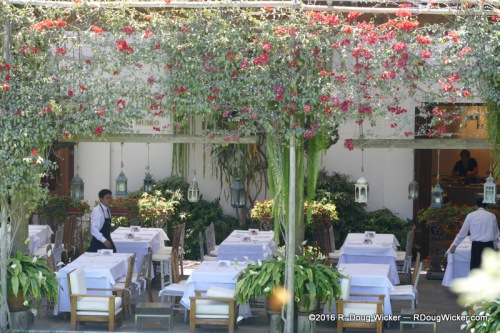 The Museo Larco restaurant