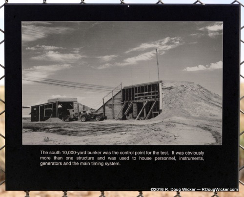 10,000-yard/9,144-meter south observation bunker
