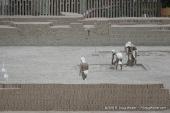 Huaca Pucllana life size diorama