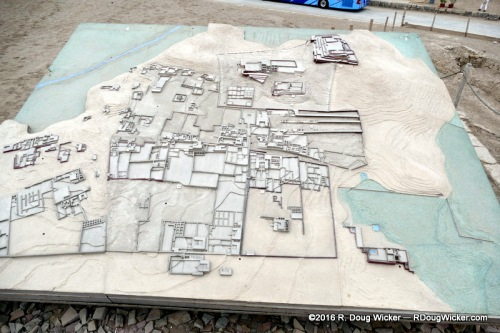 3-D Modelling of the Pachacamac Archeological Site