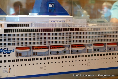 Norwegian Sun model