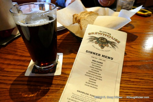House-brewed Root Beer (also cream soda)