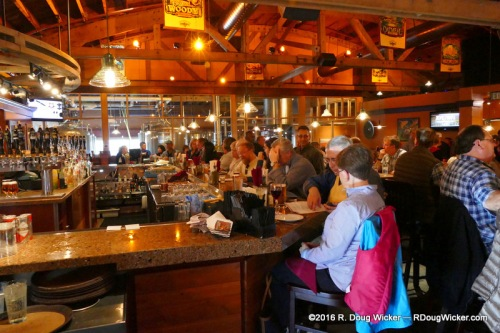 Glacier Brewhouse — brewery behind the glass