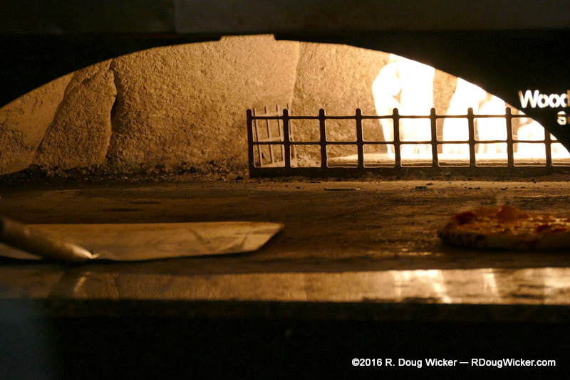 Pizza Oven at Glacier Brewhouse