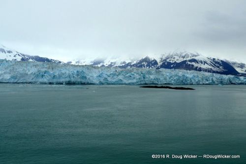 Hubbard Glacier — Six Miles Wide
