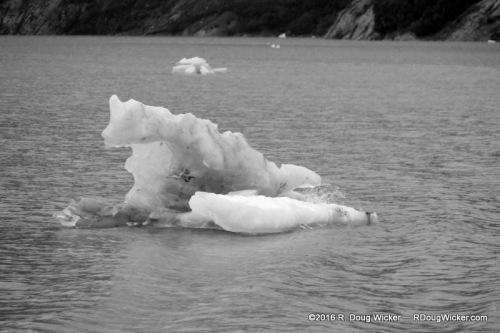 Ice on Portage Lake