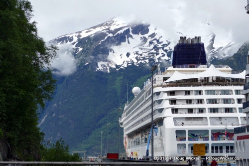 Norwegian Sun in Skagway