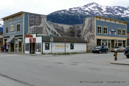 Skagway Bazaar next to Jewelry Land