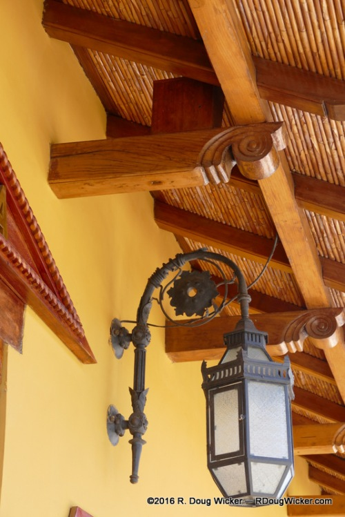 Lamp and Wood