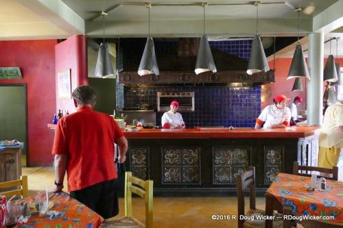 Hotel California chefs at work