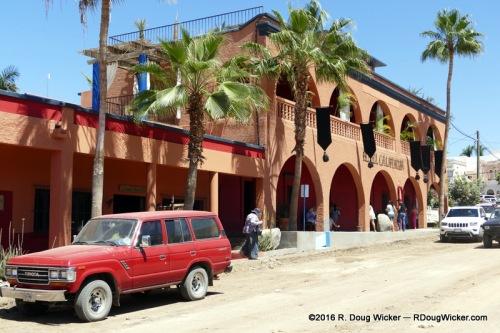 Hotel California on the Calle Benito Juárez (Benito Juárez Street)