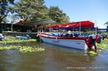 Lake Nicaragua motor boat