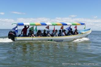 Tour Boat on Lake Nicaragua