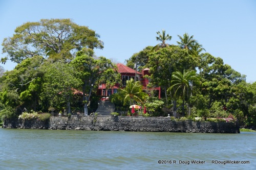 One of many homes on the Islets of Granada