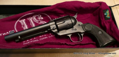USFA Rodeo chambered in .45 Colt