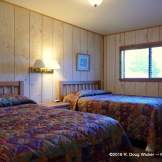 Riverside Lodge & Cabins bedroom 2