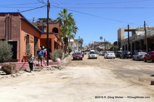 Todos Santos street