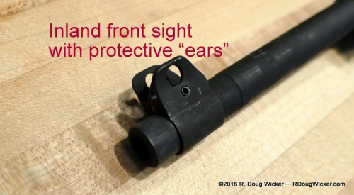 "Inland front sight protective ""ears"""