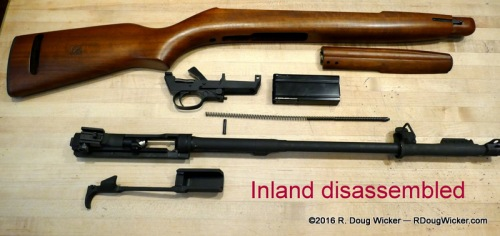 Inland disassembled