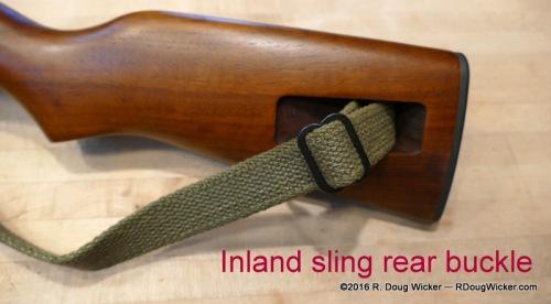 Rear sling buckle