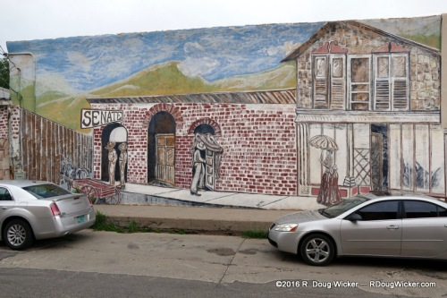 Silver City mural