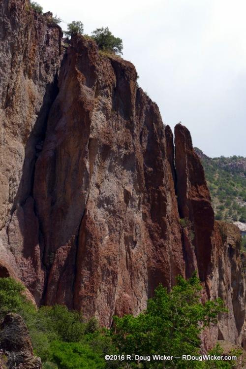 Igneous cliffs