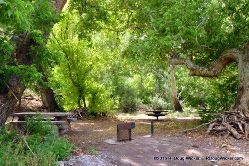 Catwalk picnic area