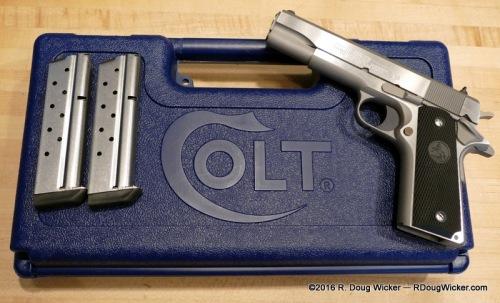 Colt M1991A1 .38 Super +P