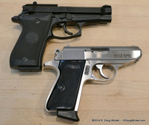 Two .380 ACP Classics — Beretta 85FS and Walther PPK/S