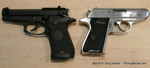Height comparison 85FS vs. PPK/S