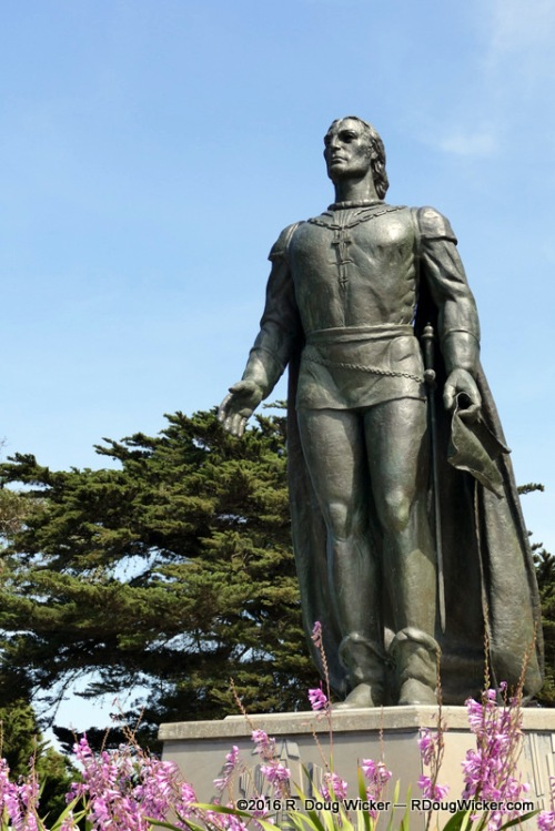 Christopher Columbus at Pioneer Park